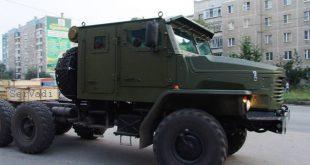 Фото нового Урал-4320 семейства «Мотовоз»