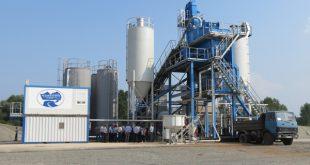 Новый асфальтобетонный завод запущен в Алтайском крае