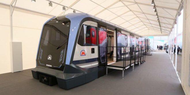 Новый поезд метро «Москва» покажут в День города на ВДНХ