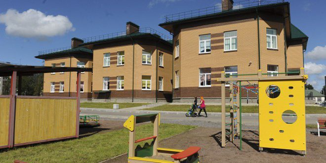 Новый сельский детский сад открыт в Ленинградской области