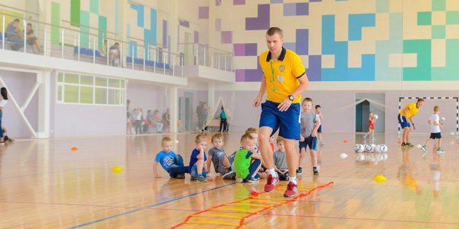 Новый спортивный комплекс открылся в Псковской области