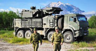 «Панцирь-С1» стал на боевое дежурство на Камчатке