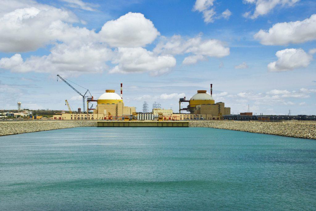 Первый энергоблок построенный Россией АЭС Куданкулам передали Индии 2