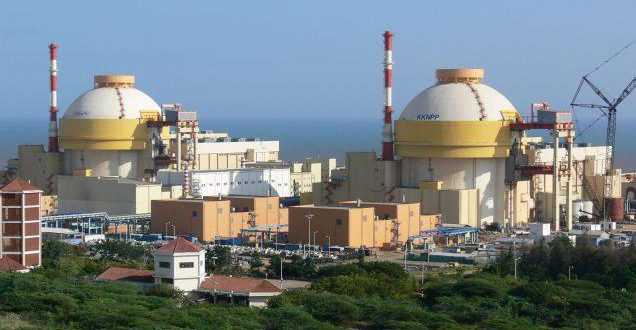 Первый энергоблок построенный Россией АЭС Куданкулам передали Индии