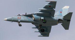 Первый учебно-тренировочный Як-130 для ВКС сборки 2016 года