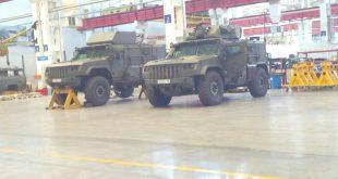Появились фотографии новых бронированных машин Тайфун-ВДВ2