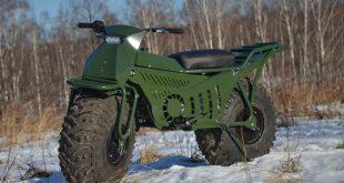 Представлен полноприводный мотоцикл-вездеход Тарусь