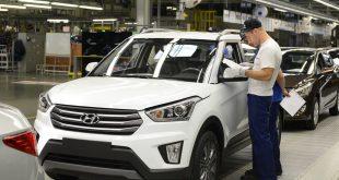 Производство полного цикла по сборке Hyundai Creta стартовало в Санкт-Петербурге