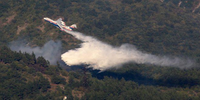 Россия отправляет два самолета Бе-200ЧС в Португалию для помощи в тушении пожаров