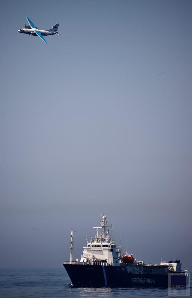 """Большой фоторепортаж с Международных совместных учений кораблей береговой охраны """"Совместный удар"""" во Владивостоке"""