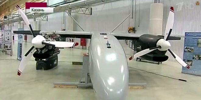 """В Казани были начаты летные испытания прототипа разведывательного беспилотного аппарата большой продолжительности полета """"Альтаир"""""""