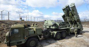 В Крыму на боевое дежурство заступил новый зенитный ракетный полк с С-400 «Триумф»