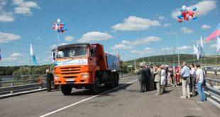 В Курчатове открыт новый автодорожный мост через реку Сейм необходимый для строительства Курская АЭС-2