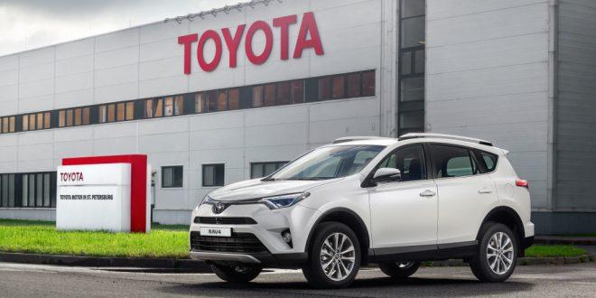 В Санкт-Петербурге начался выпуск Toyota RAV4