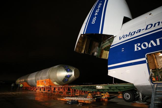 В ЦАГИ доставили фюзеляж самолета МС-21-300 для проведения статических испытаний2