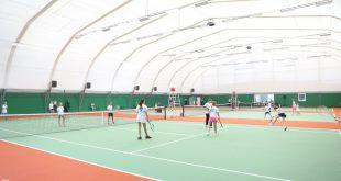 В Томске открыт детский теннисный комплекс