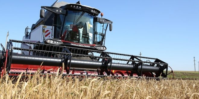 В этом году идет рекордный ход уборки урожая