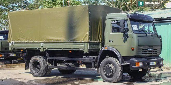 """Во Вьетнам поставили партию грузовых автомобилей """"КАМАЗ"""""""
