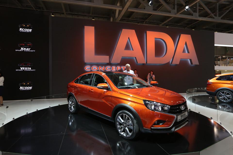 Кроссоверы Lada появятся в начале 2017 года