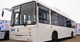 Жители Сыктывкара получили 40 автобусов НЕФАЗ, работающих на природном газе