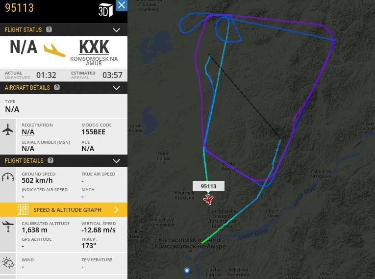 110-тый Сухой Суперджет 100 совершил первый полет