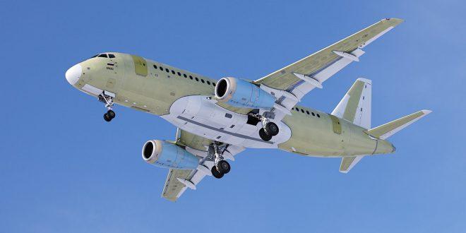 111-тый Сухой Суперджет 100 совершил первый полет