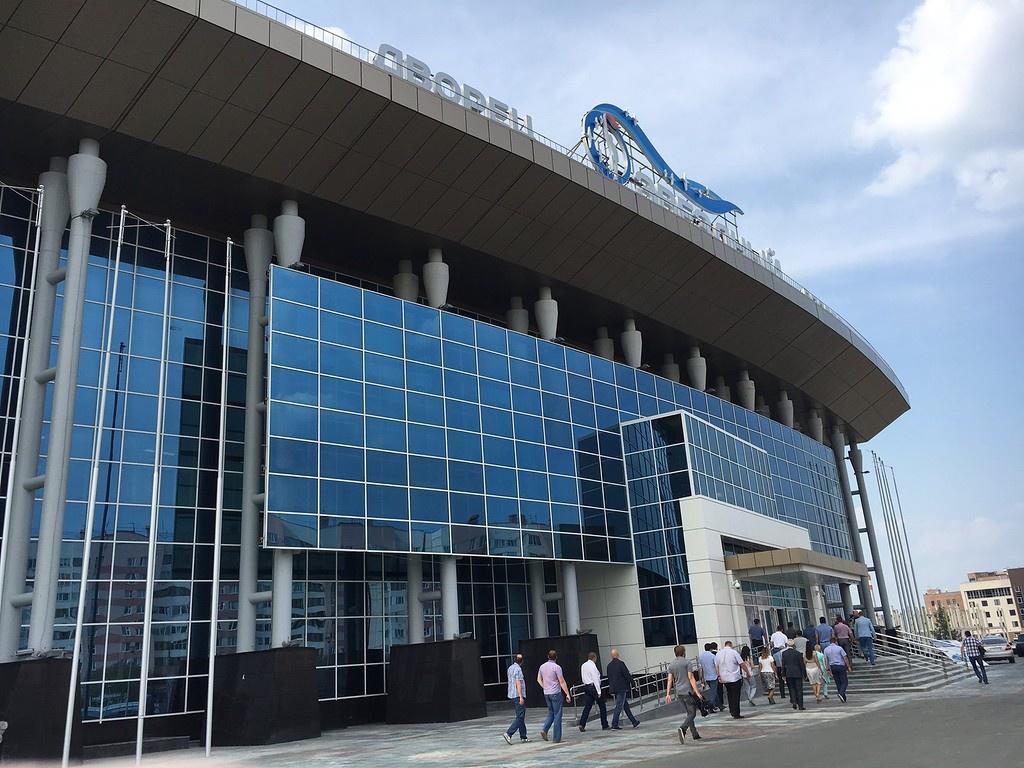 Дворец спорта «Звёздный» отрылся в Новом Уренгое