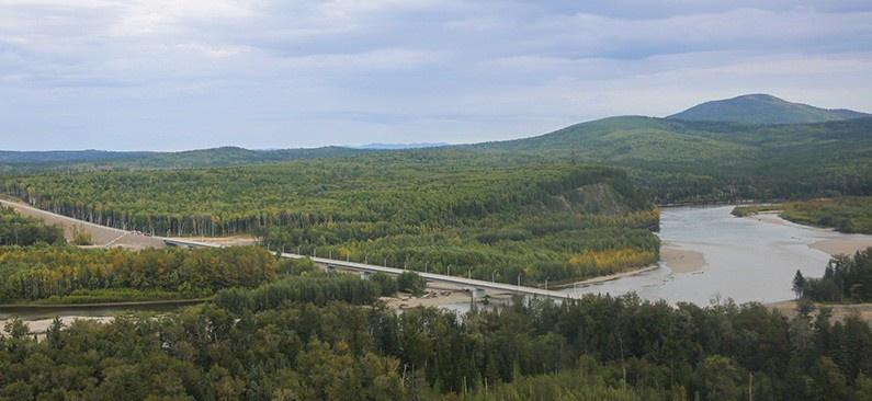 850-метровый мост открыли в Приамурье