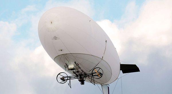 Аэростатный дальнобойный Wi-Fi комплекс связи показала ОПК