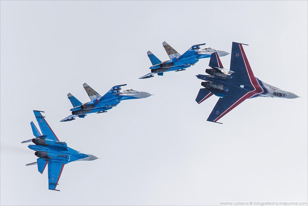 Авиационая часть форума АРМИЯ-2016 в Кубинке