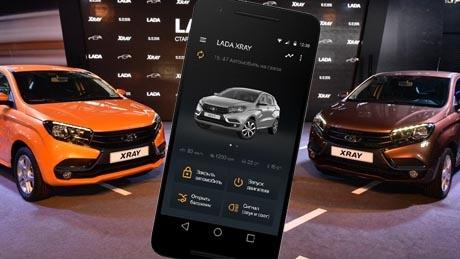 «АвтоВАЗ» предсвтавил мобильную платформу Lada Connect