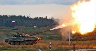 Большой фоторепортаж с динамического показа военной техники на Армии-2016