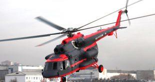 Два арктических вертолета Ми-8АМТШ-ВА получило Минобороны