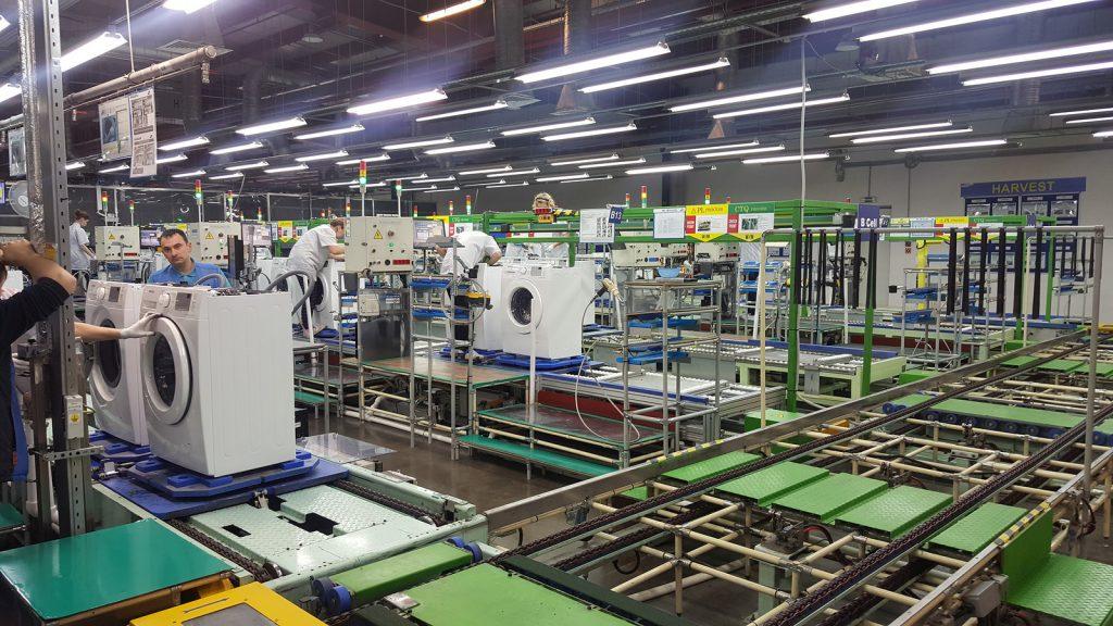 Калужский завод Samsung начинает поставки стиральных машин в Европу