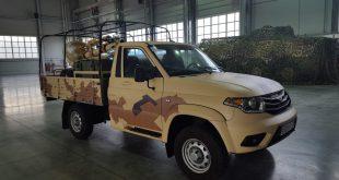 На базе УАЗ Cargo создали мобильный 120мм миномет
