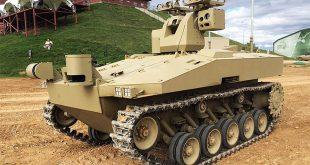 На форуме «Армия-2016» показали беспилотный гусеничный бронеавтомобиль «Соратник»