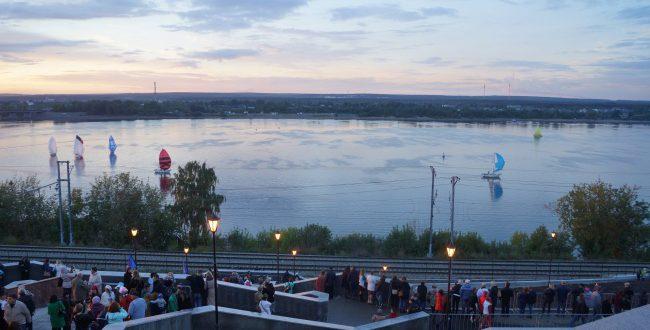 Новая городская набережная открылась в Перми