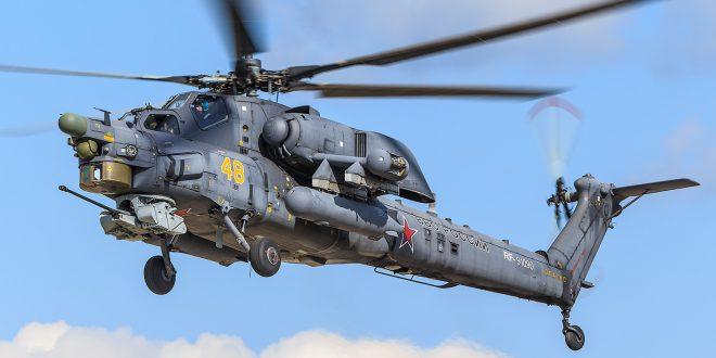 Новые российские вертолеты получат оптику кругового обзора