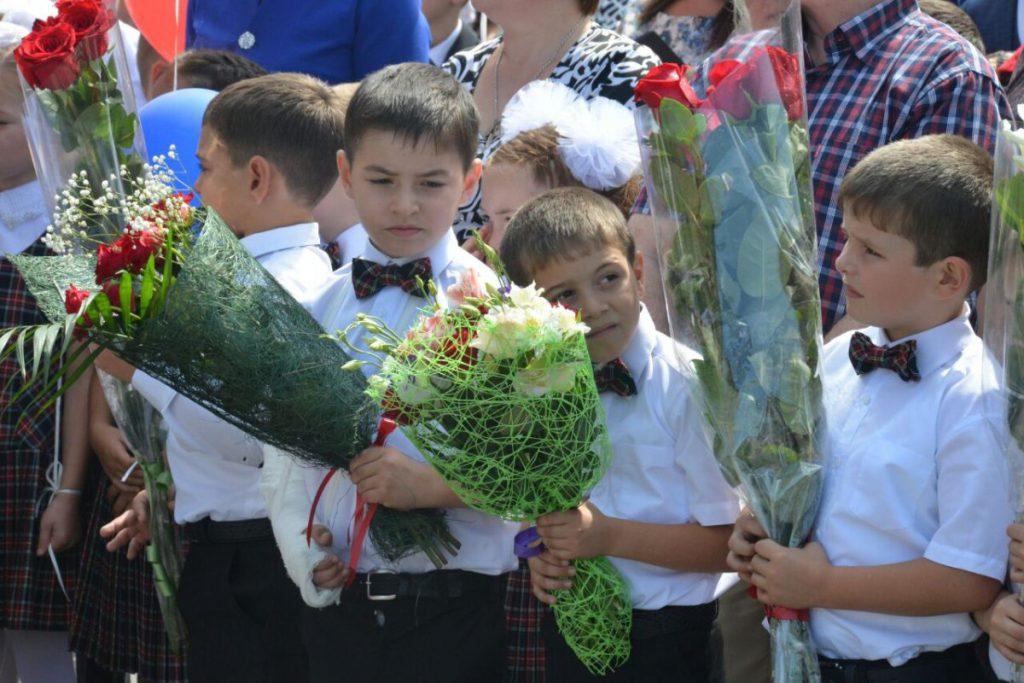 Новые школы открыли в Чувашии, Московской области, Северной Осетии, Архангельской области и Курской области
