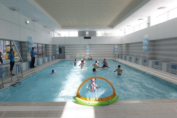 Новый бассейн «Атлантика» начал работу в Санкт-Петербурге