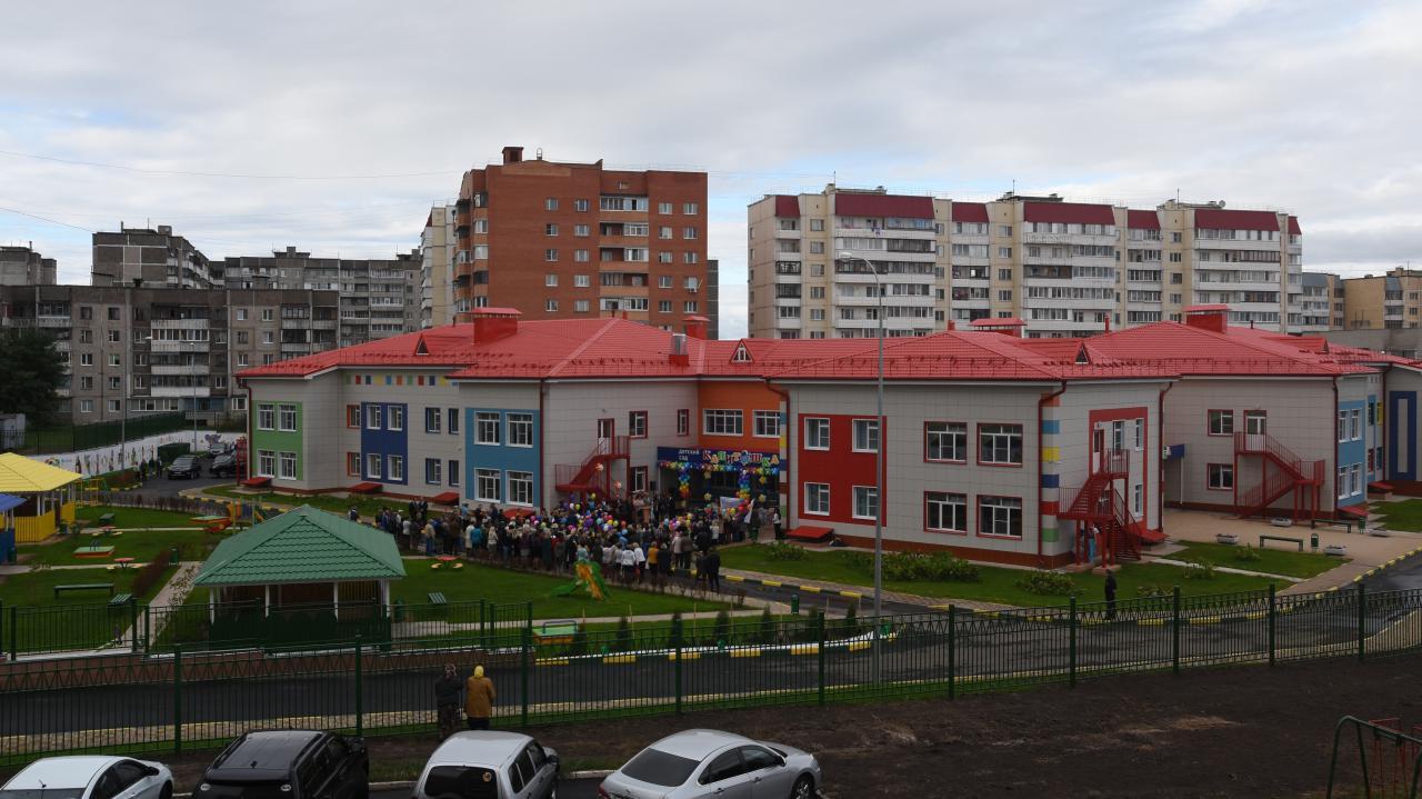 Новый детский сад на 300 мест открылся в Курской области