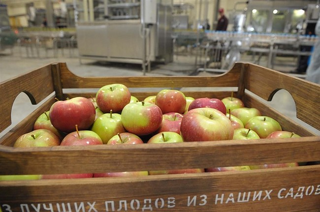 Новый завод по производству соков открылся в Самаре