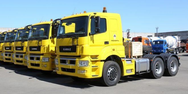 «Роснефть» в рамках обновления автопарка получила 250 КАМАЗов