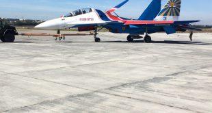 """""""Русские Витязи"""" начали получать новые Су-30СМ"""