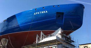 Строительство самого мощного ледокола в мире стартовало в России