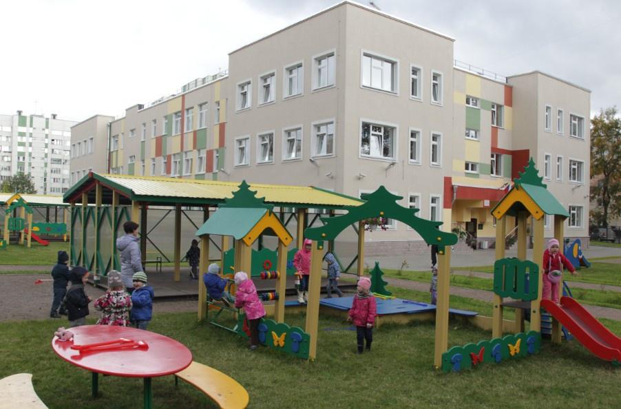 Три новых здания детских садов открылись в Московской области и Санкт-Петербурге