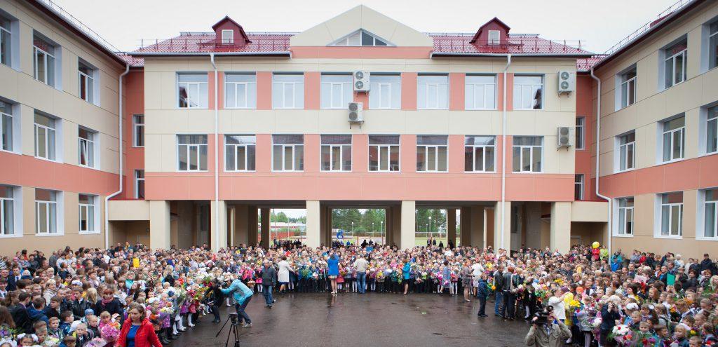 В Архангельской области открыта новая школа