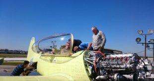 В Иркутске выкатили первый летный прототип учебно-тренировочного самолета Як-152