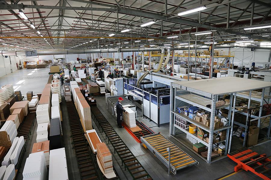 В Калининградской области открылся новый корпус мебельной фабрики «Интердизайн»