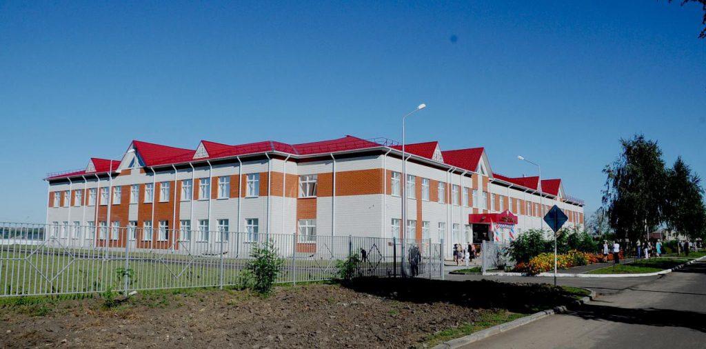 В Курской области открыли новую сельскую школу